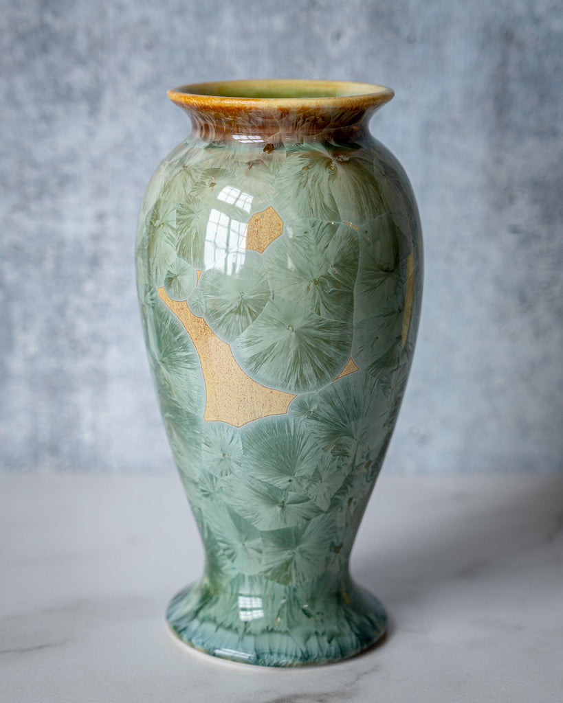 Lady Vase, medium-Saltmeadow-Edgecomb Potters (4047344926792)