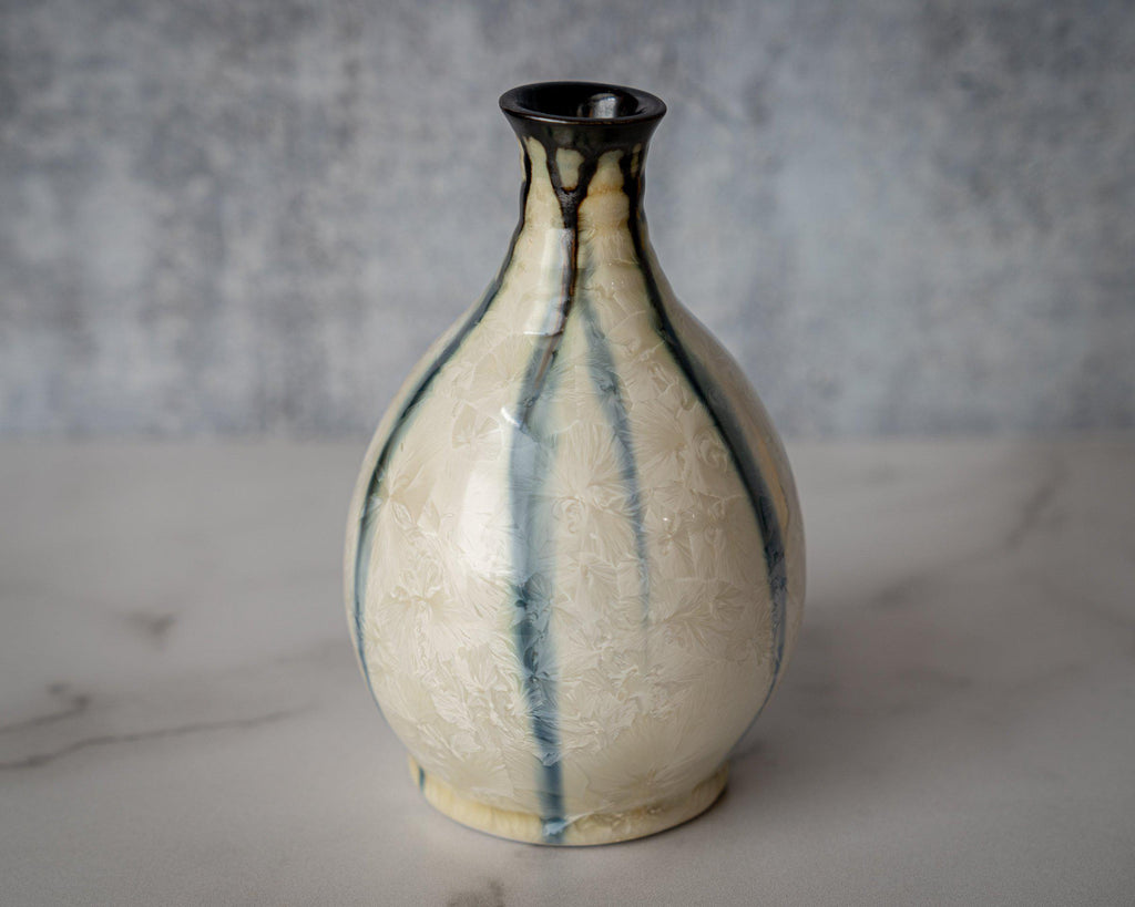 Friendship Vase, small-Winter Storm-Edgecomb Potters