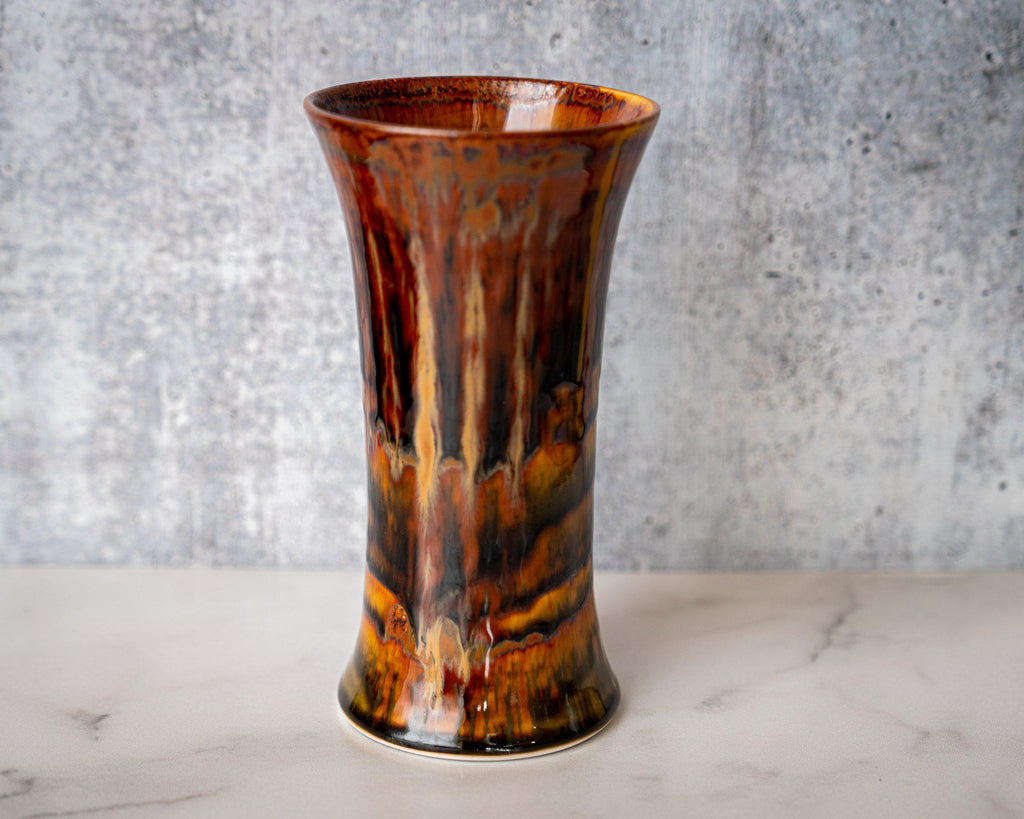 Bouquet Vase-Kyoto Forest-Edgecomb Potters (4047343779912)