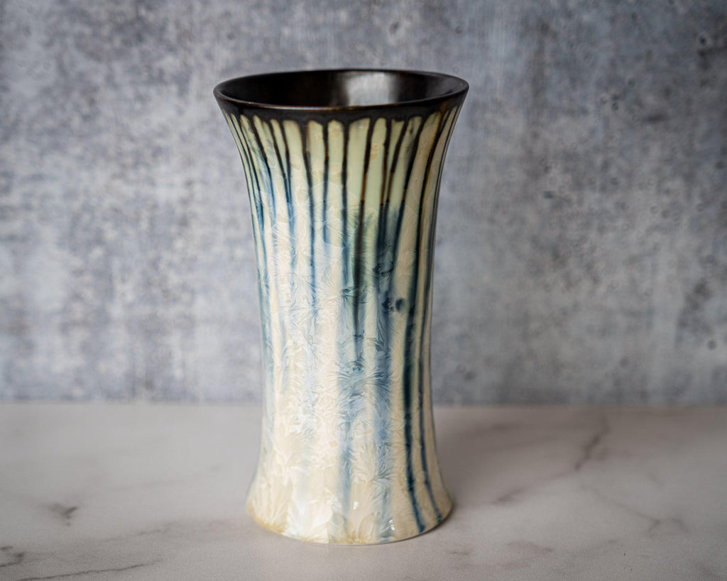 Bouquet Vase-Winter Storm-Edgecomb Potters (4047343779912)