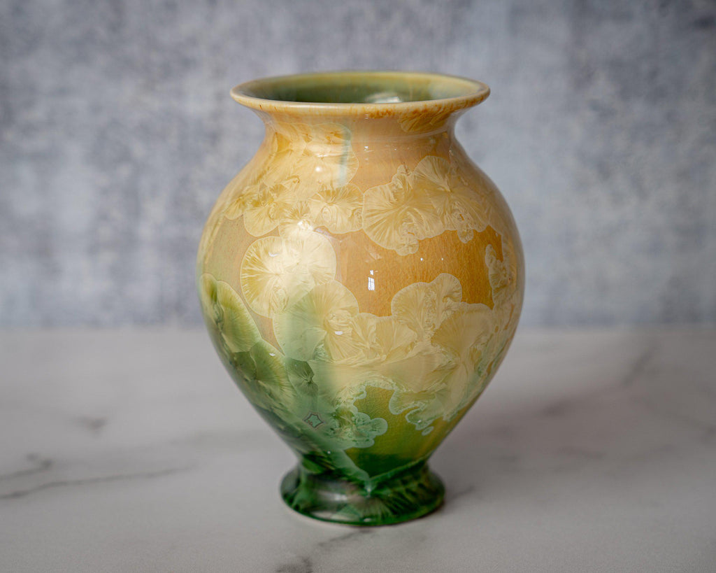 Gathering Vase, small-Tropical Paradise-Edgecomb Potters (4127875956876)