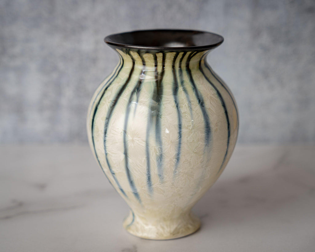 Gathering Vase, small-Winter Storm-Edgecomb Potters (4127875956876)