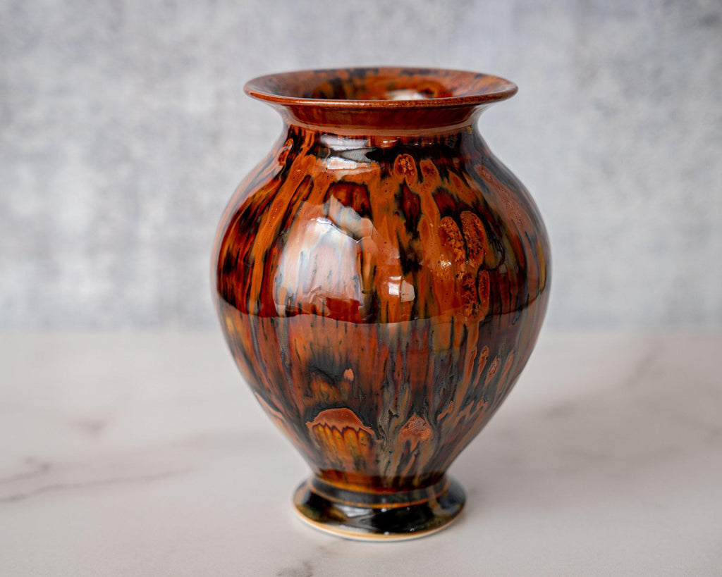 Gathering Vase, small-Kyoto Forest-Edgecomb Potters (4127875956876)