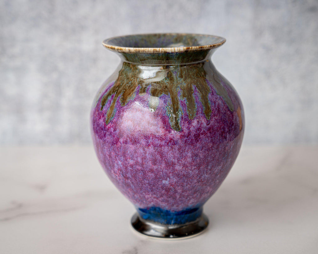 Gathering Vase, small-ROSE-Edgecomb Potters (4127875956876)