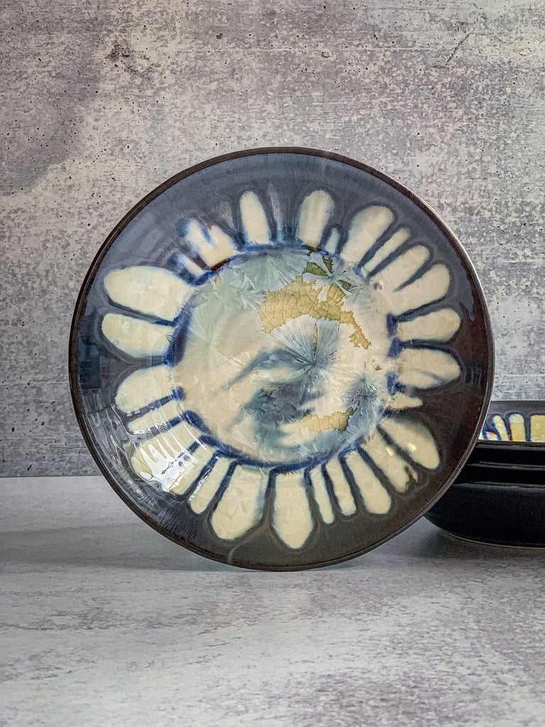 "Thrown Bowl, small 8.5""-Arctic Ice-Edgecomb Potters (4047346237512)"