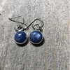 Round Kyanite Earrings - Edgecomb Potters