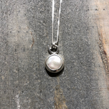 Coin Pearl Necklace - Edgecomb Potters