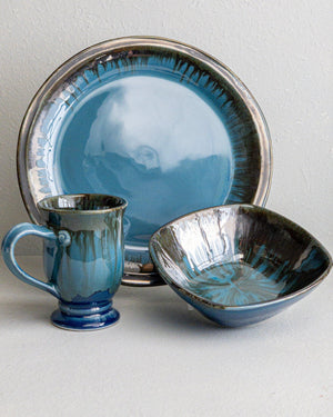 Dinnerware Set for Two-Marina-Edgecomb Potters