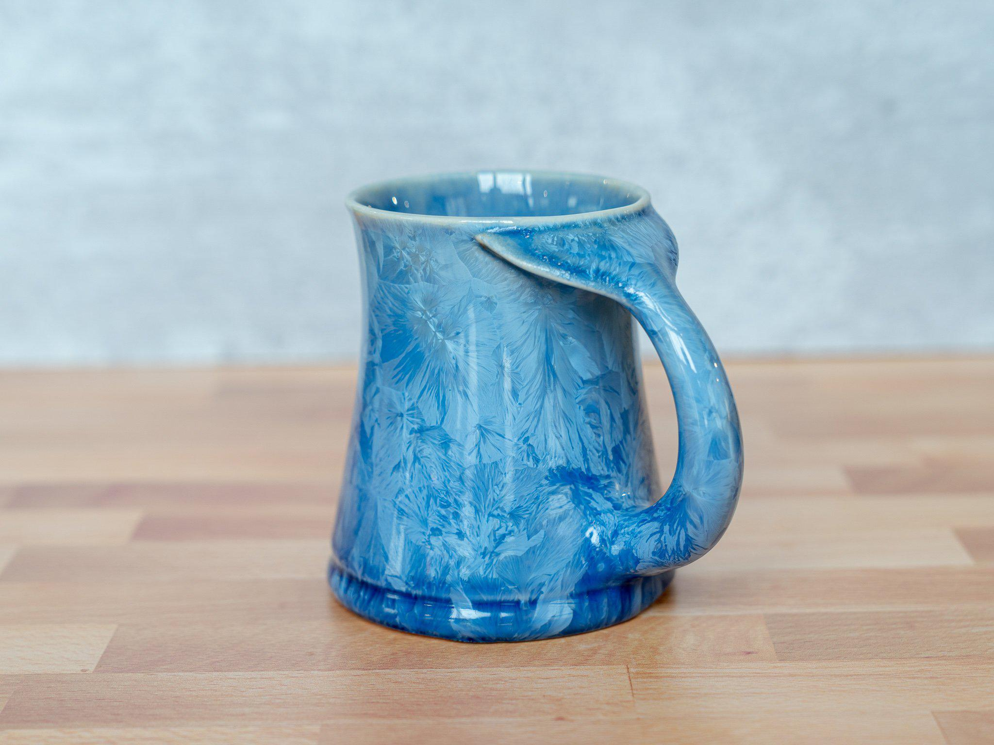 Whale Tail Mug, large - Edgecomb Potters