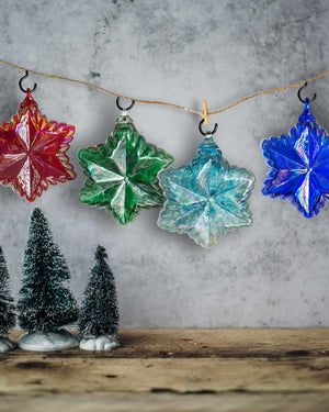 Vintage Star Ornament - Edgecomb Potters