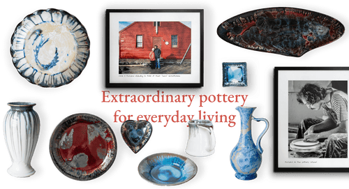 Extraorinday Pottery for everyday living