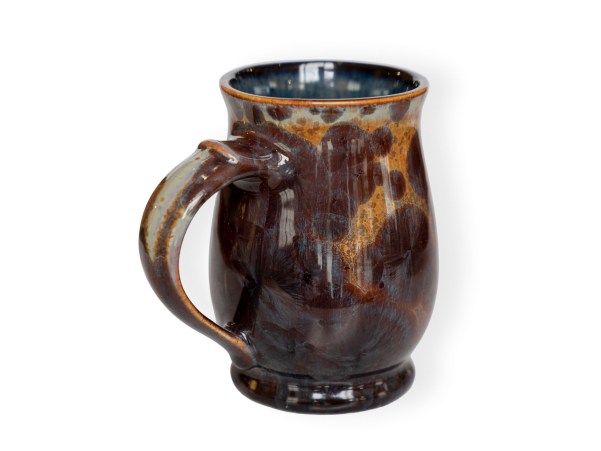the english tea pottery mug shown in tide pool