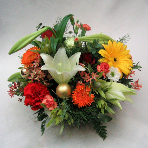 Xmas flower arrangement