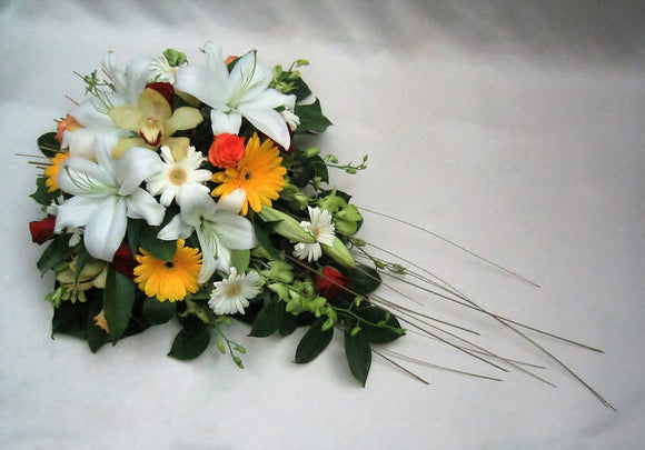 Funeral sheaf arrangement