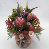 Native & wild flowers arrangement