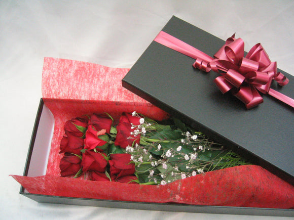 Long stem rose box