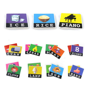 Early Learning English Alphabet Letters Card Game For Children