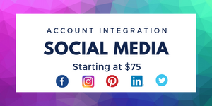 social media account integration