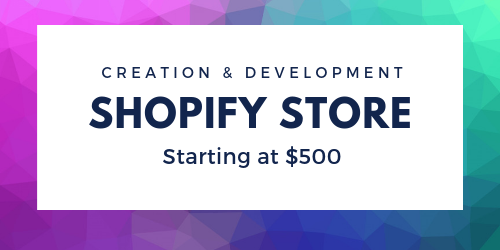 Shopify Store Creation and Development