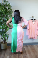 Split Decision Maxi Dress