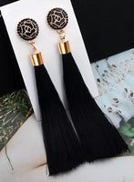 Swing Earrings - Black