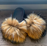Fur Slides *Final Sale*
