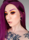 Straight Dark Purple Lace Front Synthetic Wig LF029 - Wig Is Fashion Australia