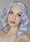 Greyish Purple Wavy Lace Front Synthetic Wig LF771D - Wig Is Fashion Australia