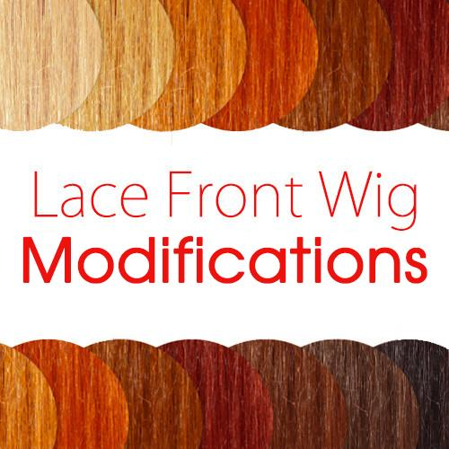 Lace Front Wig Modification Options