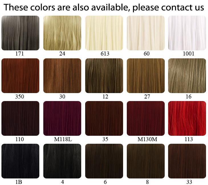 "18"" / 28"" / 39"" Heat Resistant Synthetic Sewn Hair Weft - WigIsFashion Canada"