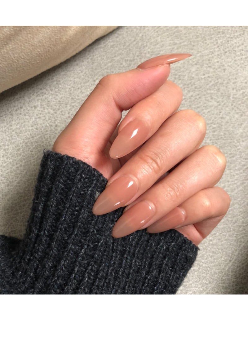 Almond Press-On Nails FN022