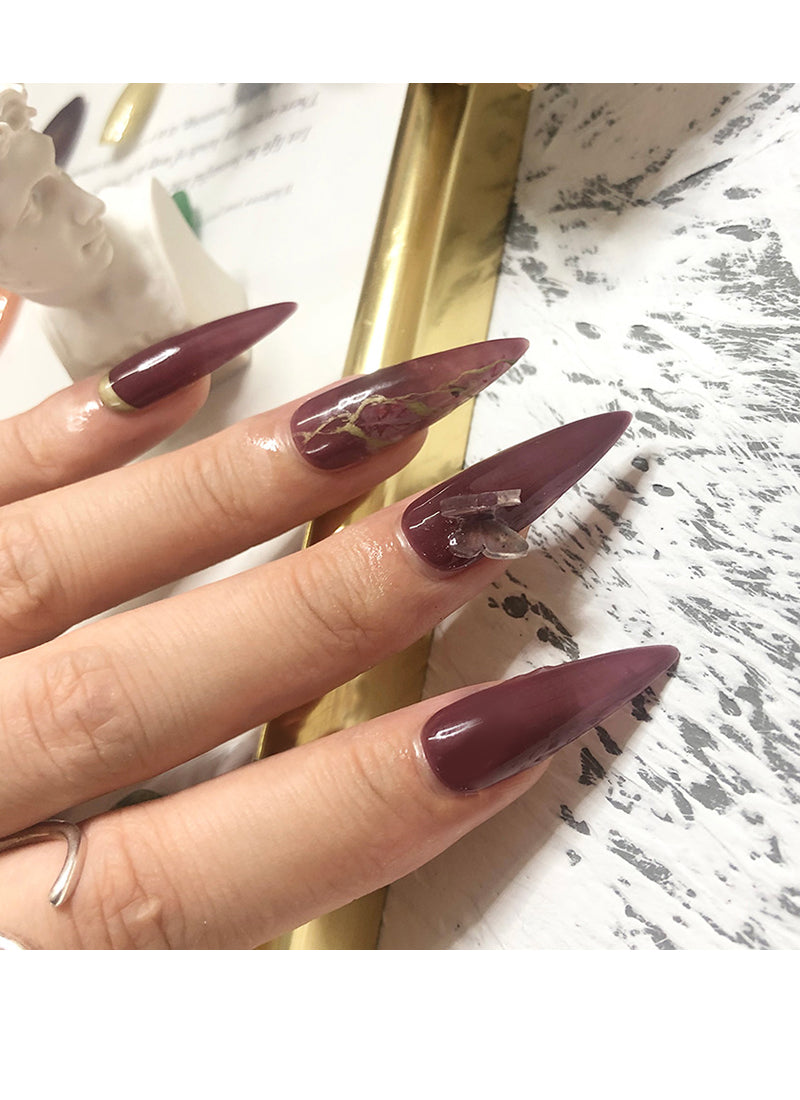 Stiletto Press-On Nails FN033