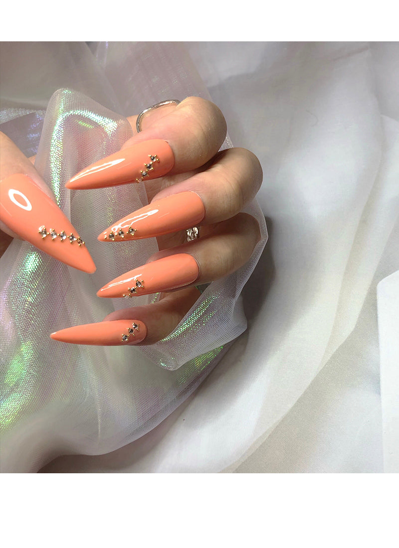 Stiletto Press-On Nails FN034