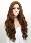 Wavy Brown Lace Front Synthetic Wig LF075