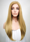 Straight Medium Blonde Lace Front Synthetic Wig LF331