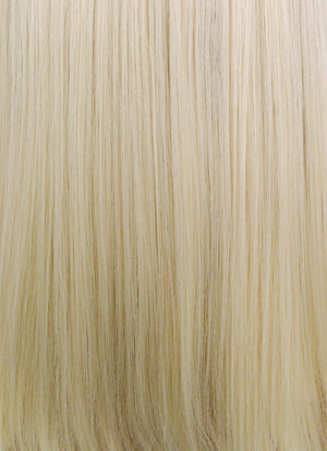 Light Blonde With Dark Roots Straight Bob Lace Front Synthetic Wig LF770A