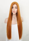 Light Auburn Straight Lace Front Synthetic Wig LN6016