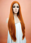 Light Auburn Straight Lace Front Synthetic Wig LW238F