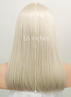 Light Blonde Straight Bob Lace Front Synthetic Wig LW836D