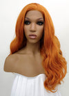 Light Auburn Wavy Lace Front Synthetic Wig LWB085E