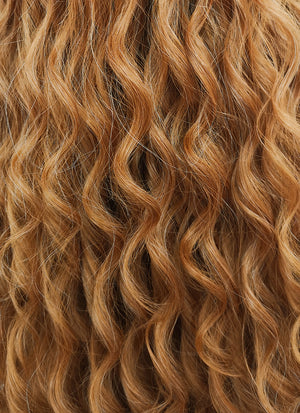 Golden Blonde Mono Parted Glueless Lace Wig MP004