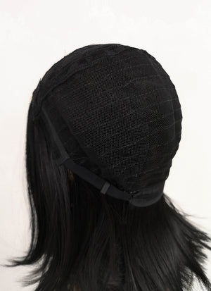 Black Straight Bob Synthetic Wig NL001