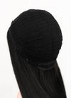 Black Straight Synthetic Wig NL006