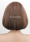 Ash Pink Straight Bob Synthetic Wig NS047