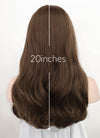 Brown Wavy Synthetic Wig NS247