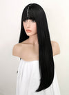 Straight Jet Black Synthetic Wig TBZ871