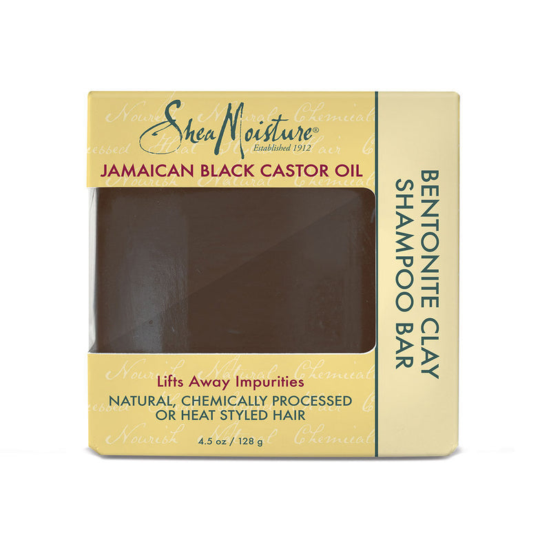 Bentonite Clay Shampoo Bar Jamaican Black Castor Oil de Shea Moisture 128g