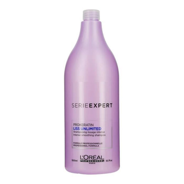 L'Oréal Professionnel Serie Expert Shampooing Prokeratin Liss Unlimited - Lissage Intense 1500 ml