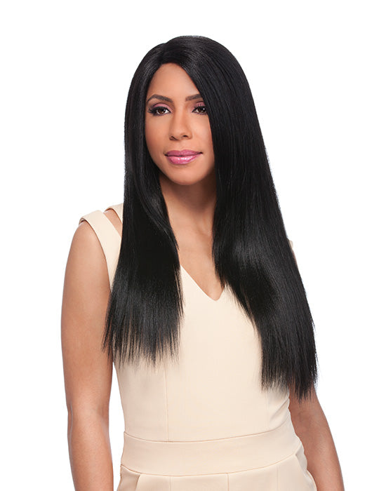 Empress Custom Lace Wig Yaki 24""