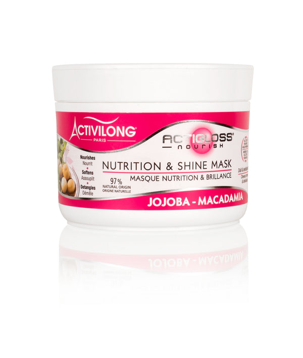 Activilong ActiGloss Nourish Masque Nutrition et Brillance 200ml